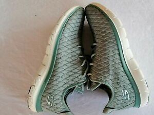 Skechers Air-cooled Memory Foam - Sneakers light green  Size US 7.5 Pre-Owned