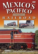 MEXICO's PACIFICO RAILROAD NDEM N DE M FNM SPdeM PENTREX NEW DVD VIDEO