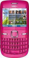 Smartphone NOKIA C3-00 Hot Pink /  Rosa - ohne SIM-Lock  + 2Gb MicroSD ---- NEU
