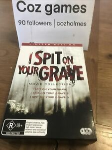 I Spit On Your Grave 1 2 3 Collection DVD Trilogy RARE Australian Release Set