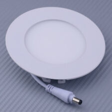 Home, Furniture & DIY 4W LED RV Round Recessed Ceiling Light Flat Panel Down Lamp Warm Color Temp 12V Home Lighting