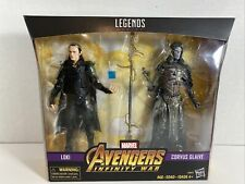 Marvel Legends Infinity War Loki Corvus Glaive 2 Pack Figures