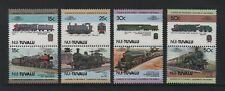 TUVALU (NUI) 1984 LEADERS OF THE WORLD RAILWAY LOCOMOTIVES (1st) *VF MNH*