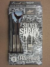 Harrows Silver Shark 23g Steel Tip Darts 54123 w/ FREE Shipping