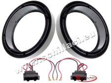 Adattatori altoparlanti Casse 165 mm +  per VolksWagen VW Lupo / New Beetle port
