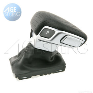 Audi A5 A4 8W Q5 Q7 4M S-line Gear Knob Automatic Punched Leather RightHandDrive