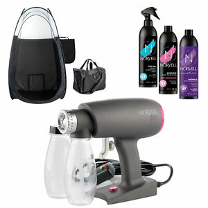 Norvell Oasis Portable Spray Tanning Machine Tan Solution Tent and Carry Bag