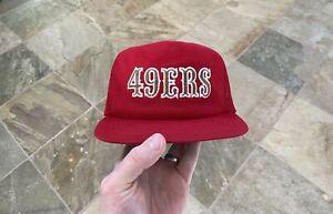 Vintage San Francisco 49ers New Era Snapback Football Hat
