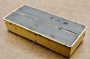 Brass Cigarette Trinket Box Jenfred Ware Ben Seibel Vintage MCM