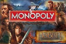 *NEW IN BOX* The Hobbit 2 Desolation of Smaug Edition MONOPOLY Board Game - 8+