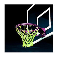 Basketball Hoop Net Glow In The Dark Outdoor Sports Training Goal Rim Accessory