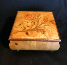 The San Francisco Music Box Company Wooden Made Italy