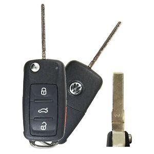 Volkswagen VW Jetta 2011-2014 Key Fob Flip Switchblade OEM NBG010180T