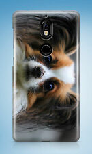 CUTE DOG PUPPY CANINE PAPILLION HARD CASE COVER FOR NOKIA LUMIA 530 730