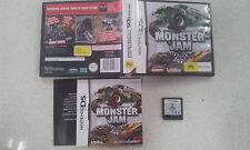 Monster Jam Nintendo DS Lite DSi 3DS Complete Version Australian Stock