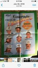 "NASCAR 1989 GATORADE ""CIRCLE OF CHAMPIONS"" Poster!!!"