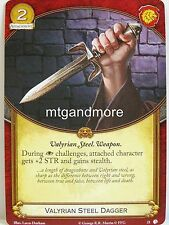 A Game of Thrones 2.0 LCG - #021 valyrian Steel Dagger-Lions of Castel Granito