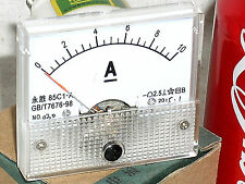 Internal Shunt 10a 10 A Amp Dc Analog Needle Current Panel Meter Ammeter 25 Usa