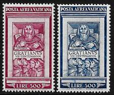 Vatican stamps 1951 MI 185-186  MNH  VF