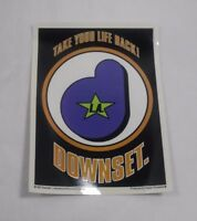 "DOWNSET. 5"" Vinyl Sticker NEW!!! Cheap  PUNK Hardcore HIP HOP"