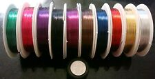 26 gauge craft wire jewelry making wire 10 meters 32 feet choice of colors pw100