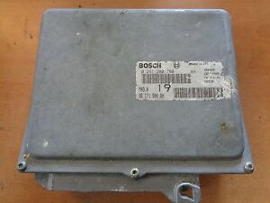 calculateur BOSCH MA3.019 / 0281200780 / 9617150080 (ref 4422 )