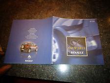 Ancien Catalogue de la Gammes des Miniatures Renault 2000 Voiture Camion Rallye