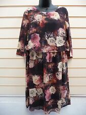 Dress Floral Size12 Together Chiffon Tier Formal Knee Length