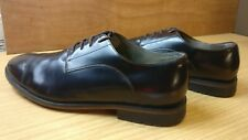 Clarks Hombres Formal Elegante Marrón Rojo Cuero Derby Smart Shoes Size UK 9.5 G 43.5