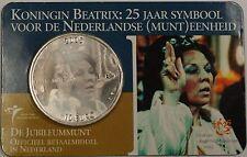 2005 10 Euro Queen Beatrix Netherlands Silver Jubilee Coin