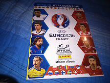 EMPTY ALBUM ROAD TO EURO 2016 FRANCE PANINI