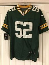 CLAY MATHEWS PACKERS JERSEY nfl green bay NIKE stitched NEW nwt SEWN men's 48