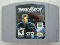 *GREAT* WinBack Covert Operations Nintendo 64 N64 Video Game Super Fun Shooter