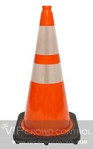 "JBC Safety Plastic Revolution Series Traffic Cone, 28"" HT, RS70032CT3M64"