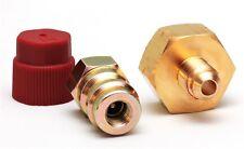 "Retrofit-adaptador de alta presión conversión r134a con adaptador botellas 1/4"" SAE HD"