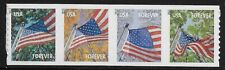 US Scott #4770-73, Coil of 4 2013 Flags VF MNH