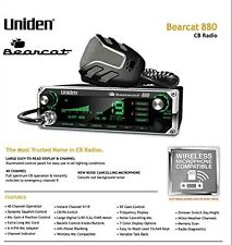Uniden Bearcat 880 Cb Radio with 40 Channels and Large Easy-to-Read 7-Color