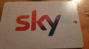 Sky Q PayTV Smartcard für Sammler. SKY V15 Ohne Abo