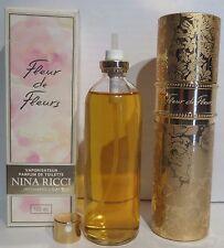 NINA RICCI Fleur de 100 ml / 3.4oz Parfum Toilette PdT neuf/emballé Vintage