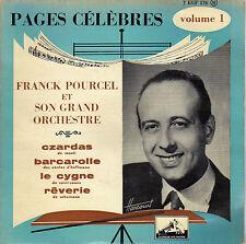 FRANCK POURCEL CZARDAS FRENCH ORIG EP