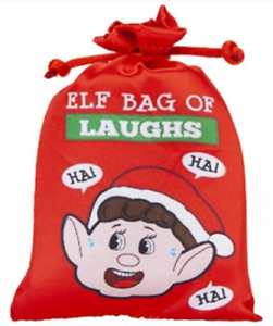 Naughty Christmas Elf Electronic Bag Of Laughs Elves Behavin' Badly Free Post
