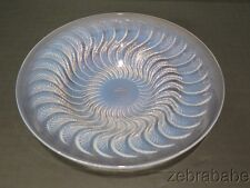 R Lalique Opalescent Crystal Bowl Actinia 10""