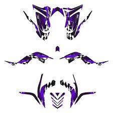 Raptor 700R  graphics 2006 - 2012 full coverage Yamaha decal kit #3500 Purple
