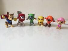 Paw Patrol Hero Pups Mission Quest Marshall Chase Rubble Rocky Skye Zuma Figures