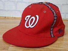 NEW ERA NBA BASEBALL WASHINGTON NATIONALS SPORTS SNAPBACK HAT CAP 7 3/4