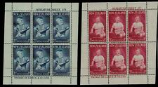 New Zealand 1962 HEALTH Stamps MINI SHEETS SGms813b Unmounted Mint RE:QM853