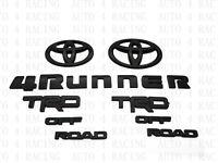 2017-2020 4RUNNER TRD Off Road Black Overlay Bundle Kit For Toyota 4Runner