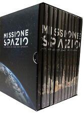 BOX COFANETTO 12 DVD MISSIONE SPAZIO ALLA SCOPERTA DEL MONDO DEGLI ASTRONAUTI