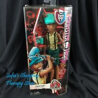 Monster High Doll Clawd Wolf Scarnival Carnival Werewolf NEW IN BOX NRFB