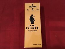 PETER PONZOL SIZE 2 HANDCRAFTED TENOR SAX REEDS - BOX OF 5 - SAXOPHONE